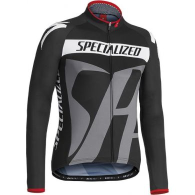 Specialized Pro Racing Jersey Ls Blk/gry