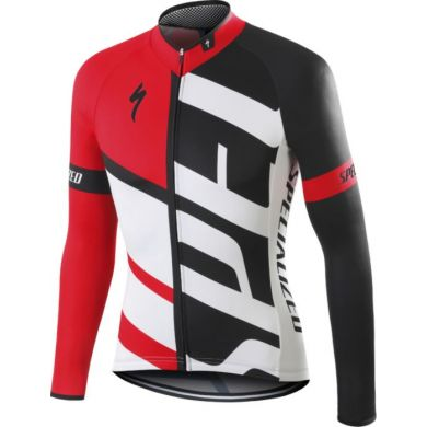 Specialized Rbx Comp Jersey Ls Red/blk/wht